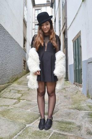 StyleMoi dress - suiteblanco hat - sammydress blazer