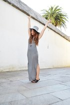 H&M dress - Zara hat - Primark heels