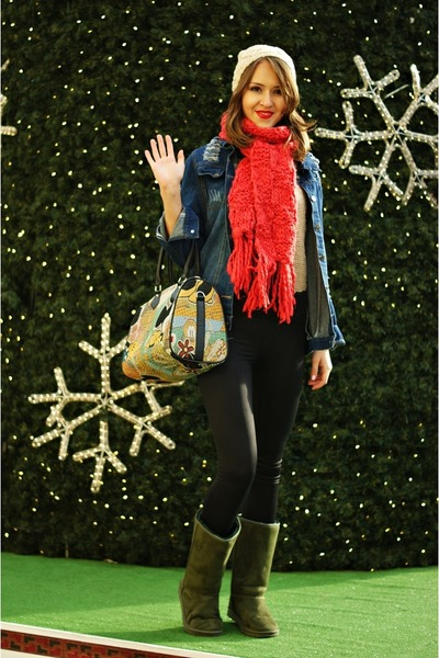 red Mohito scarf