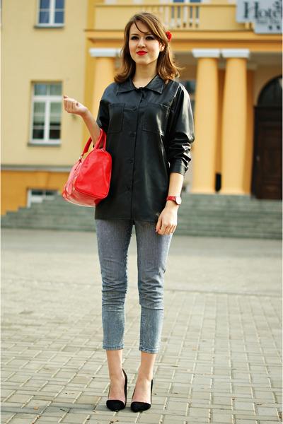 leather Modekungen shirt