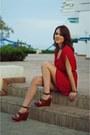 Red-fashionique-dress