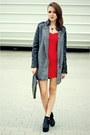 Red-stylishplus-dress