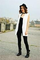 white Sheinside vest