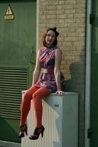 dress - Zara shoes - accessories