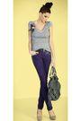 Purple-maddalena-jeans-silver-maddalena-top-silver-maddalena-accessories