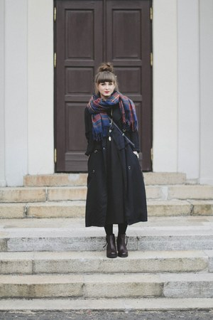 navy Front Row Shop coat
