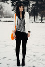 Ivory-chicwish-blazer-carrot-orange-alefajnatorebkapl-bag