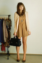 Zara dress - Romwecom dress - H&M blazer - Romwecom necklace