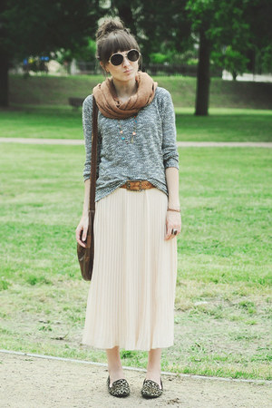 cream romwe dress