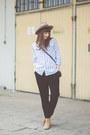 White-romwe-shirt