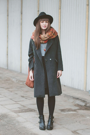 heather gray Choies coat