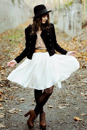 deezee boots - Mango skirt