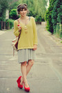 Lime-green-reserved-sweater-heather-gray-romwe-skirt-red-papillion-wedges