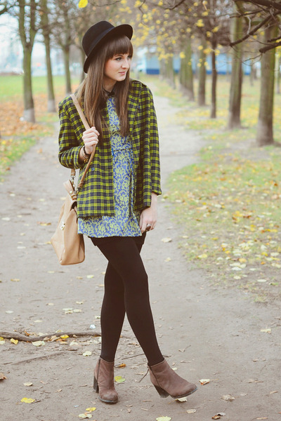 lime green DKNY coat