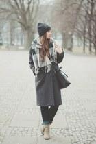 heather gray Choies coat