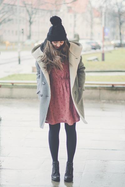 heather gray La Redoute coat