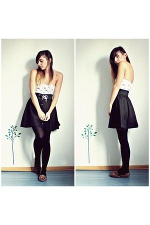 black H&M suit