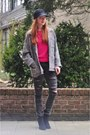 Black-ripped-diy-jeans-black-topshop-boots