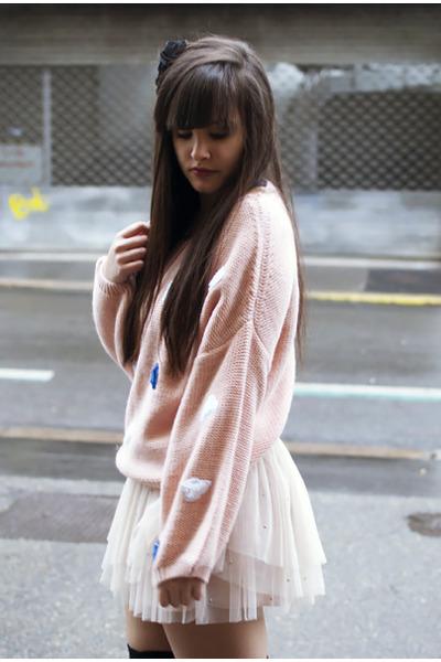 jennyfer skirt - Sheinside jumper