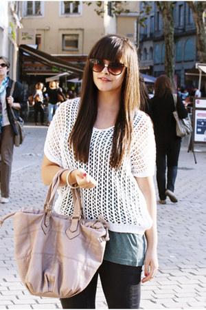 Cache Cache sweater - H&M bag