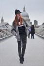 Black-topshop-boots-black-diy-jeans-black-pompom-asos-hat