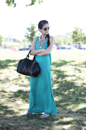 H&M dress - Zara bag