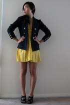 random dress - warehouse blazer - Aldo shoes