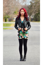black Call it Spring boots - black Suzy Shier jacket