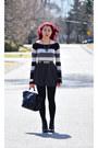 Black-call-it-spring-boots-heather-gray-garage-sweater-black-ebay-bag