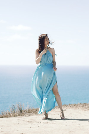 aquamarine shein dress