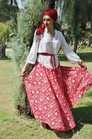 Aaberi skirt - Zara blouse