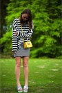 Black-stripes-loavies-sweater-yellow-leather-box-bag-rebecca-minkoff-bag