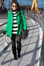 Vintage-dress-zara-coat