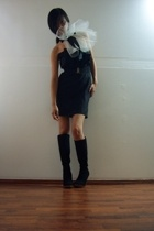 Maiden dress - Maiden necklace - payless boots
