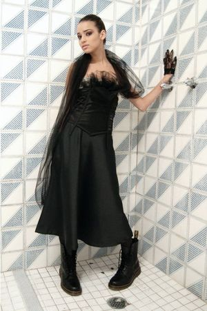 black Maiden dress - black Maiden