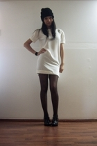 Maiden dress - stockings - boots