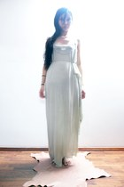 maxi drape Maiden dress