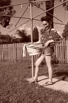 Maiden top - Valleygirl shorts