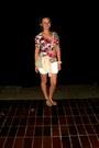 Floral-new-yorker-t-shirt-deichmann-bag-amadeus-jeans-shorts