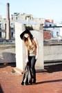 Black-gold-detail-diy-topshop-boots-black-skinny-h-m-jeans-black-floppy-asos