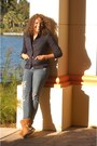 Koolaburra-boots-old-navy-jeans-blazer-gap-jacket