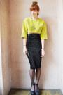 Black-sequins-asos-skirt