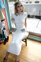 white mandate of heaven dress