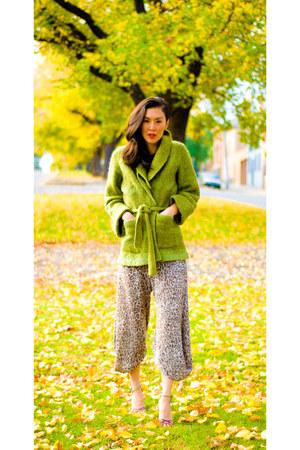 vintage jacket - SISNME pants - vintage heels