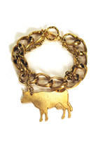 cow chain Manic Trout bracelet