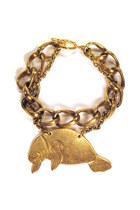 manatee chain Manic Trout bracelet