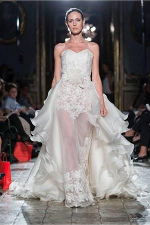 ivory Francesca Abate dress