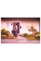 black By Alis skirt - black Altramarea shoes - heather gray Stella McCartney bag
