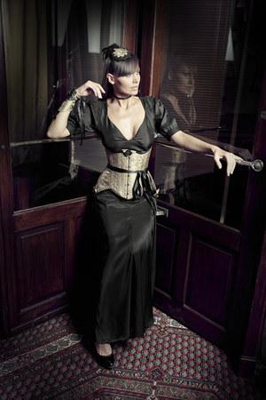 asos dress - Victorian Woman by Manuela Biocca hat