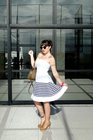 white Siberian dress